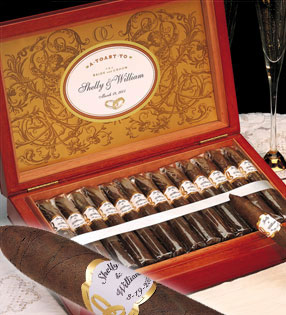 Personalized Wedding Cigars